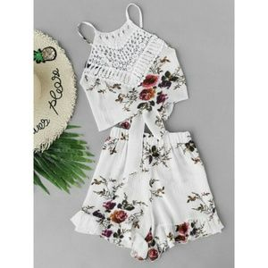 Other - Two piece floral set